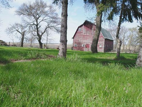 80 Acres Cropland & Acreage Site : Volga : Lake County : South Dakota