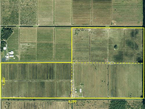 235Ac Pasture, Barn & Cattle Pens : Fort Pierce : Saint Lucie County : Florida