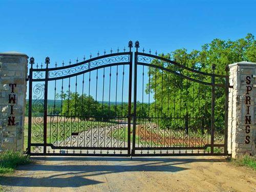Oklahoma High Fenced Ranch For Sal : Velma : Stephens County : Oklahoma