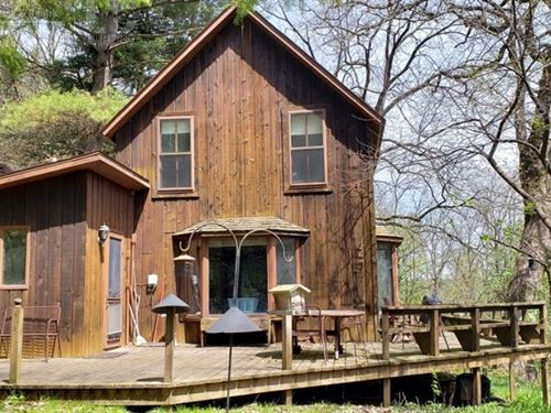 Cabin Hunting Land Richland County : Cazenovia : Richland County : Wisconsin
