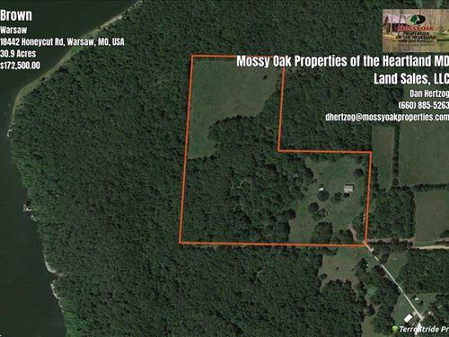 30 Acres at Truman Lake : Warsaw : Benton County : Missouri