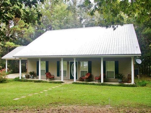 3 Bed, 2 Bath Home, Guest House &Am : Magnolia : Pike County : Mississippi