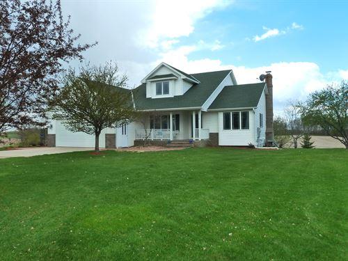 Maple Lake MN Horse Farm/Land/Home : Maple Lake : Wright County : Minnesota