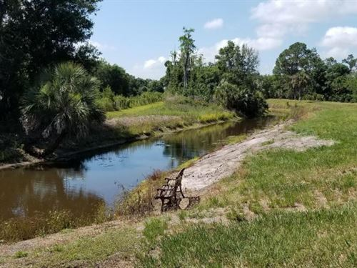 Secluded Private Creek Recreational : Punta Gorda : Charlotte County : Florida