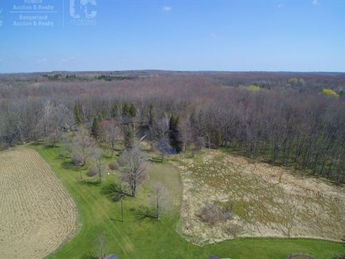 Rare Chance to Own 83 Acres Scenic : Cedarburg : Ozaukee County : Wisconsin