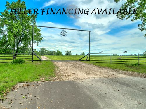 Large Cattle Ranch Hunting Land : Annona : Red River County : Texas