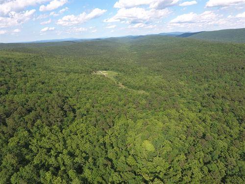 760 Acres, Mountain Land in SE OK : Wilburton : Latimer County : Oklahoma