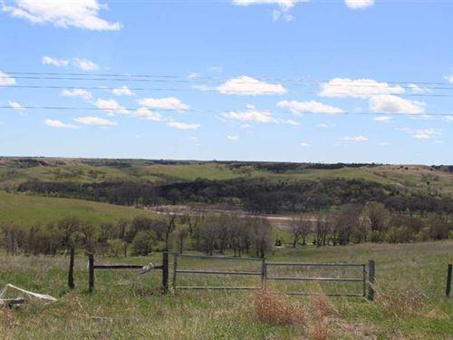 306.83 Acres, More OR Less, Grassl : Niobrara : Knox County : Nebraska