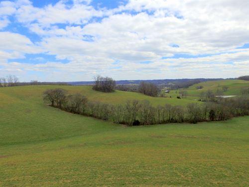 Gently Rolling 57 Acre Farm : Santa Fe : Maury County : Tennessee