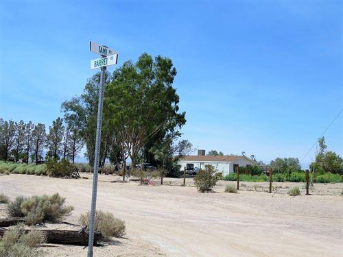 Premium 40Ac-Ag/Res Land-Well-Power : Newberry Springs : San Bernardino County : California