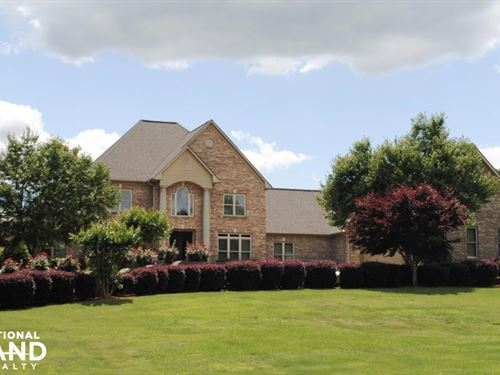 Odenville Custom Estate & Horse Far : Odenville : Saint Clair County : Alabama