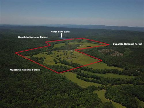 261 Acres in Montgomery Co, Hu : Mount Ida : Montgomery County : Arkansas