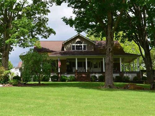 Gorgeous, Country Home 117 Acres : Rogersville : Hawkins County : Tennessee