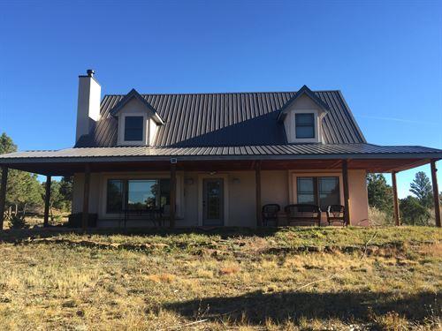Beautiful Home, Bighorn Sheep Ranch : Aguilar : Las Animas County : Colorado