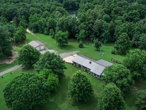 Country Home Acreage Tn, 4 Ponds : Stantonville : Hardin County : Tennessee