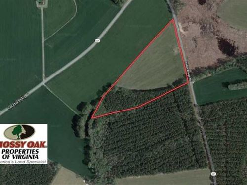 Under Contract, 13.3 Acres of Far : Wakefield : Sussex County : Virginia