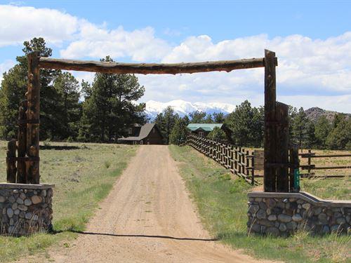 Mountain Ranch Colorado, Custer : Westcliffe : Custer County : Colorado