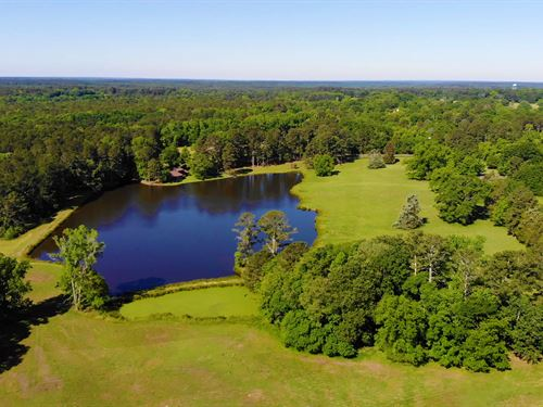Four Parcels Available, Lake, Ponds : Woodville : Greene County : Georgia