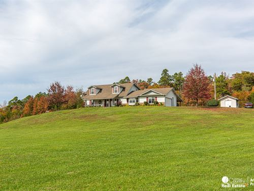 Country Home For Sale in Arkansas : Oden : Montgomery County : Arkansas