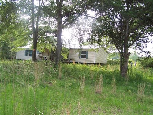 Mobile Home & 46 Acres Copiah : Crystal Springs : Copiah County : Mississippi