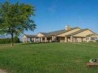 80 Acres With Gorgeous Home Views : Independence : Montgomery County : Kansas