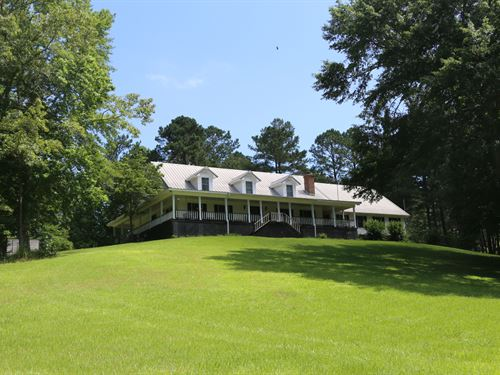 Beautiful Home, Farm, Timber, Hunt : Alexander City : Tallapoosa County : Alabama