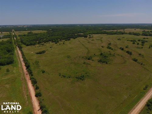 79 Acre Grass And Timber : Sparks : Lincoln County : Oklahoma