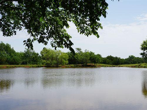 Hobby Grassland Ranch, Large : Carney : Lincoln County : Oklahoma