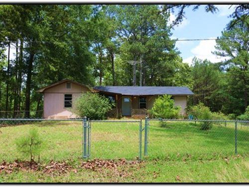 35 Acres With A Home In Attala Coun : Kosciusko : Attala County : Mississippi