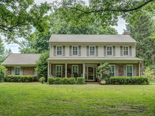 Historic Carnton Lane Franklin TN : Franklin : Williamson County : Tennessee