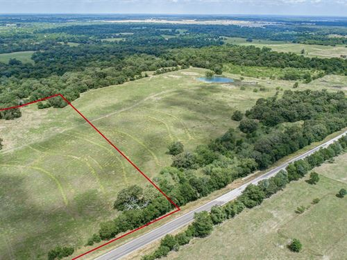 10 +/- Acres Madison County : Midway : Madison County : Texas