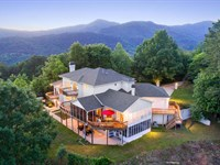 Mountaintop Living On 405 Acres : Copperhill : Polk County : Tennessee