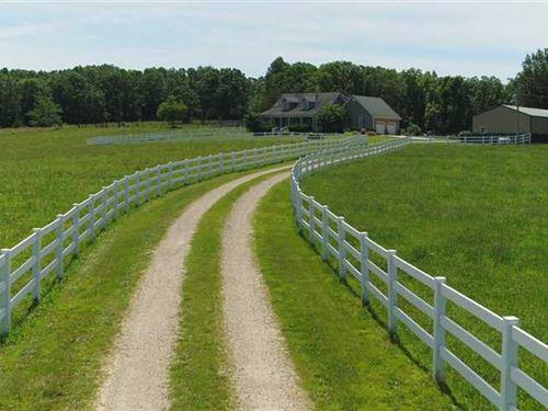 121 Acre Gasconade River Farm In : Falcon : Laclede County : Missouri
