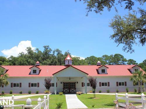 Camelot Farms Equestrian Center : Saint Helena Island : Beaufort County : South Carolina