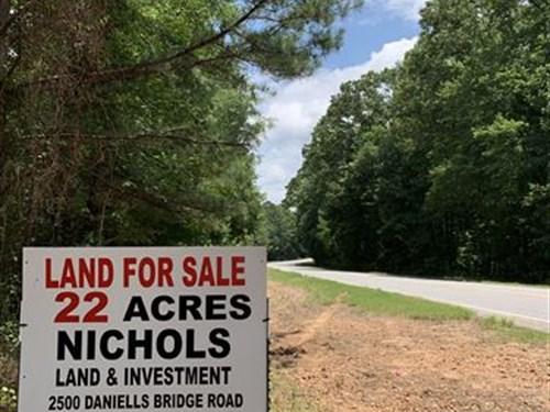 Small Farm Excellent Home Site : Good Hope : Walton County : Georgia
