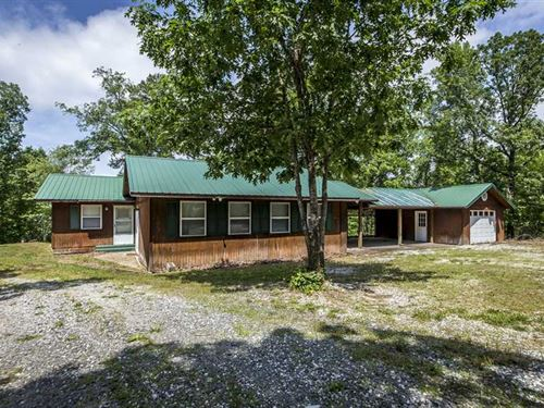 Home /20 Ac, / 1 Mi, to Greers Ferr : Greers Ferry : Cleburne County : Arkansas