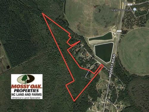 Under Contract, 41.34 Acres of Hu : Maxton : Robeson County : North Carolina
