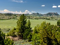Land Bordering Blm & Mountain : Alcova : Carbon County : Wyoming