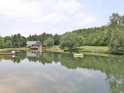 Hunting Cabin With Private Pond : Preble : Cortland County : New York