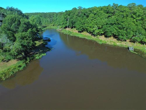 32 Ac, Custom Home, Ponds, Fishing : New Brockton : Coffee County : Alabama
