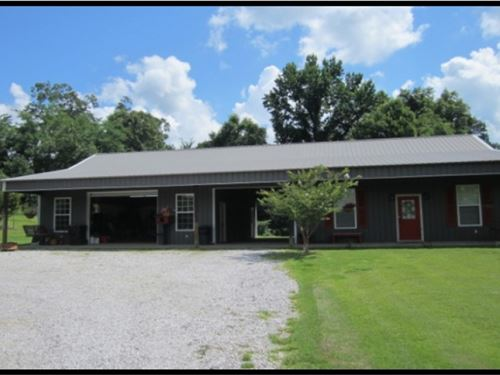 41.55 Acres With A Metal Home In Ti : Ripley : Tippah County : Mississippi