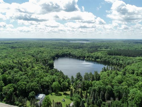 420 Acres With Home And Lake Front : Johannesburg : Otsego County : Michigan