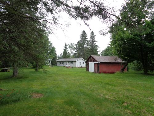 179393, 200 Acres + Cabin : Minocqua : Oneida County : Wisconsin