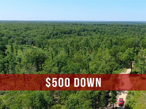 10 Acres With County Road Frontage : Lebanon : Dallas County : Missouri