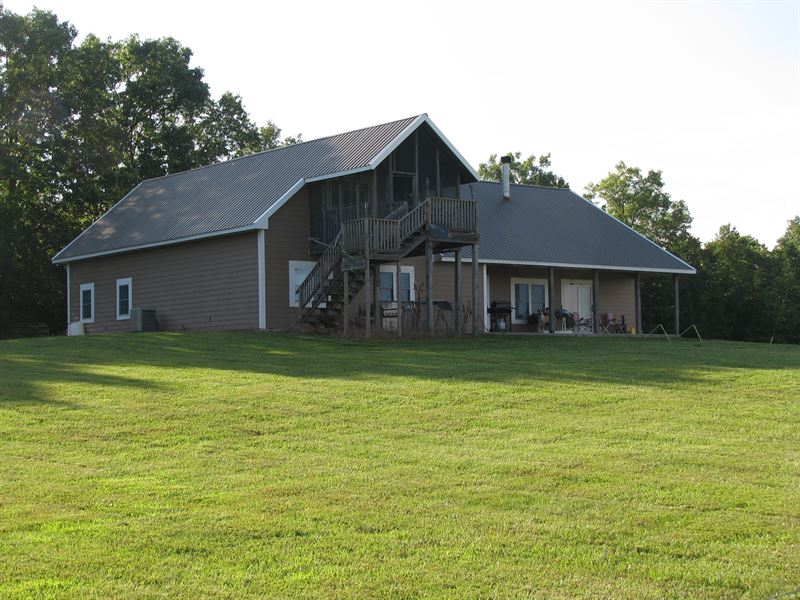 Missouri Ozarks Ranch And Home Ranch For Sale Drury