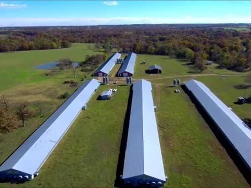 25 Acres Poultry Farm : Gentry : Benton County : Arkansas