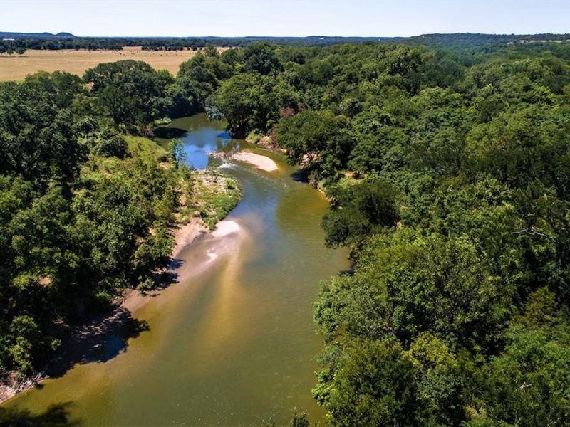 Moore River Ranch : Clifton : Bosque County : Texas