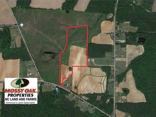 Under Contract, 29.4 Acres of Fa : Middlesex : Nash County : North Carolina