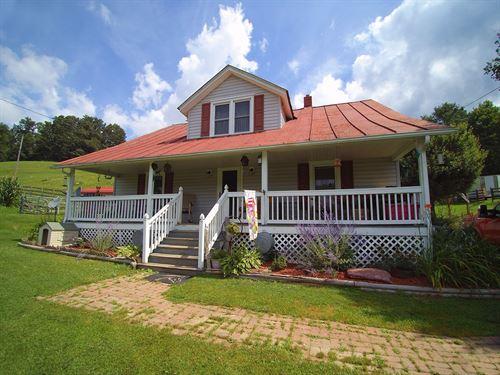Grayson Highlands Mini-Farm : Troutdale : Grayson County : Virginia