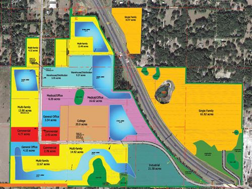 Commercial & Residential Land : Mount Dora : Lake County : Florida